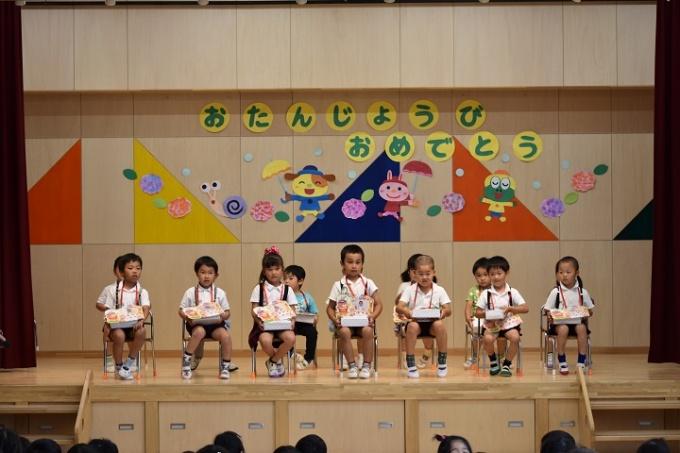春の幼稚園 6月のようす