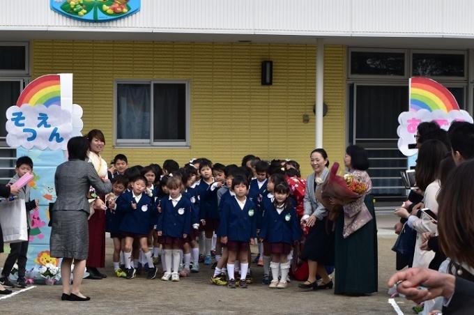 春の幼稚園 3・4月のようす
