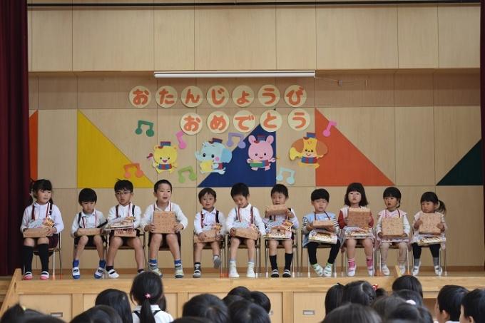 春の幼稚園 4・5月のようす