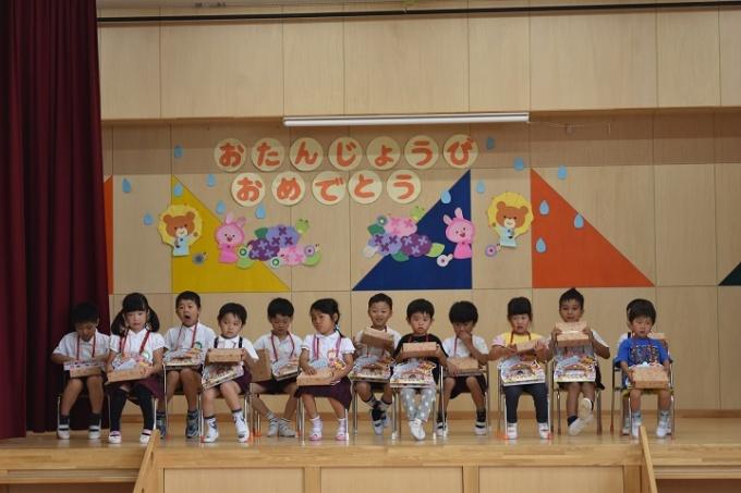 春の幼稚園 6月のようす①